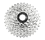 SunRace CSM66 8-Speed Nickel Plated Cassette, 11-32T
