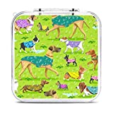 Raincoat dogs Game Card Case for Swítch Protective Portable Case Box with 12 Cartridge Slots