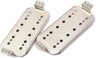 Healifty 2 piezas de pastillas de guitarra fijadas Humbucker Neck Bridge placa base de pastillas 50mm 52mm