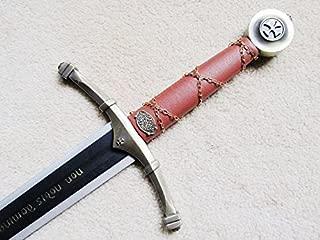 AIT Collectibles S0172 Deluxe Non Nobis Knight Templar Accolade Claymore Sword W/Wall Mount 44