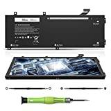 CREATESTAR 11.4V 56Wh RRCGW Laptop Battery Compatible with DELL XPS 15 9550 Infinity Precision 15 5510 P56F001 Mobile Workstation Series Notebook 62MJV 062MJV 451-BBFM 5D91C KHCK5 M7R96 0RRCGW