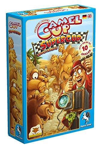 Pegasus Spiele 54546G - Camel Up Supercup (Erweiterung) (eggertspiele)