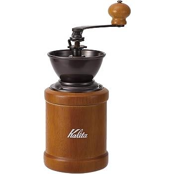 【Amazon.co.jp限定】カリタ Kalita コーヒーミル 手挽き ブラウン KH-3BR #42078