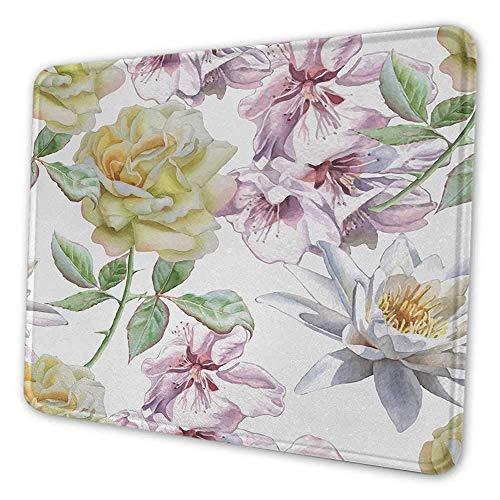 Floral benutzerdefinierte Mauspad...