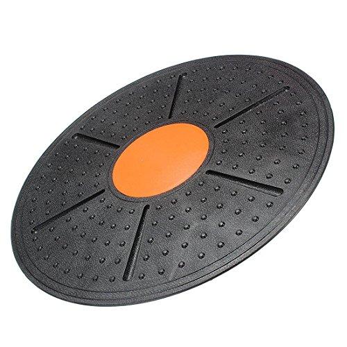 Huante - Tabla de equilibrio para ejercicios de musculación y yoga, color negro