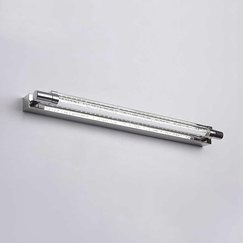12   16W LED Wandlampen, moderne minimalistische Edelstahl-Acryl-Badezimmer-wasserdichte Spiegel-Scheinwerfer-Wandleuchten Nordic-Wohnzimmer-Schlafzimmer-Studien-Wandleuchte (Wattage   16W)
