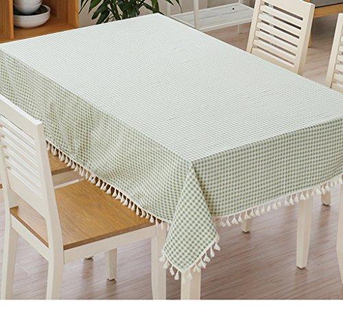 JCRNJSB® Tissu à rayures de style japonais en coton et lin Lavable et facile à entretenir ( Couleur : Vert , taille : 140*220cm )