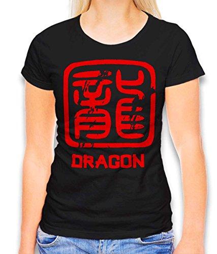 shirt Chinese Signs Dragon dames T-shirt - vele kleuren/S-XXL