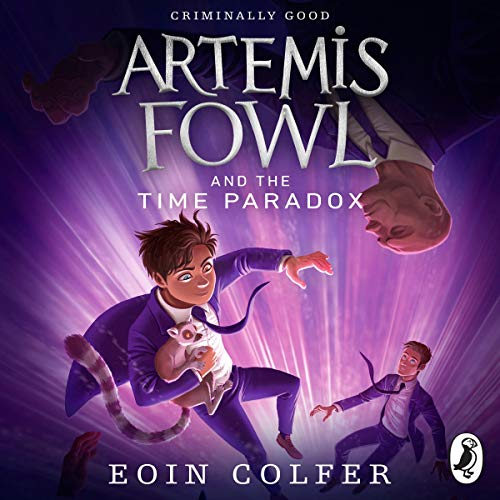 Artemis Fowl and the Time Paradox audiobook cover art