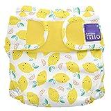 Bambino Mio MS1 LEM - Bambino Mio, Mioduo Cobertor de Pañal Reutilizable, Tarta de Limón, Talla 1 (