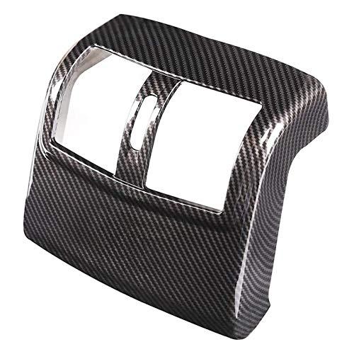 CCHAO ABS con Fibra de Carbono Condición de Aire de Aire de Salida de la Cubierta de Salida de la Cubierta de la Etiqueta engomada del Ajuste Adecuado para Mercedes Benz W212 E-Class 2012-2015