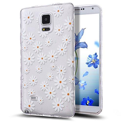 Galaxy Note 4 Case,NSSTAR Scratch-Proof Ultra Thin Crystal Clear Rubber Gel...