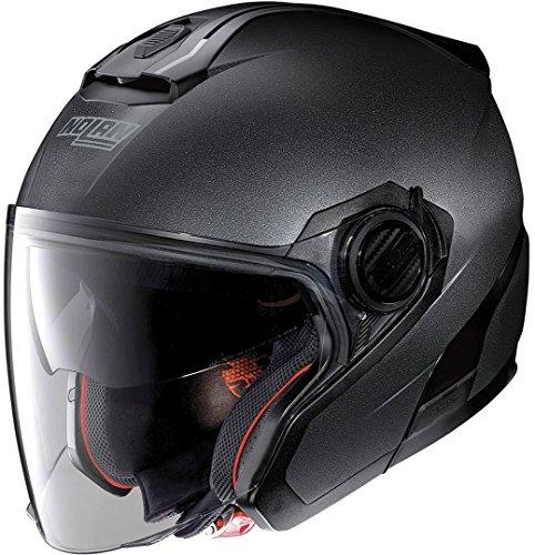 Nolan N40-5 Special N-Com Motorradhelm, Graphit-Schwarz, Größe L