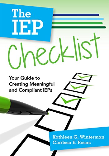The Iep Checklist Your Guide To Creating Meaningful And Compliant Ieps