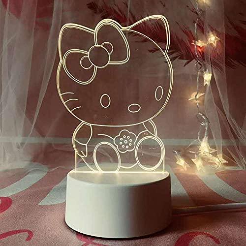 Lámpara de mesa de dibujos animados 3D Pickup kuple ladrón cama rey atmósfera decoración noche luz-_CT.