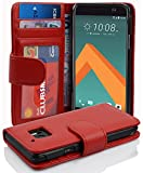 Cadorabo Book Case works with HTC 10 (One M10) in INFERNO