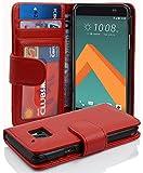 Cadorabo Hülle für HTC 10 (One M10) in Inferno ROT –