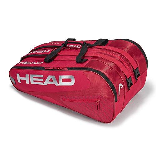 Head Elite 12R Monstercombi, Borsa per Racchette da Tennis Unisex-Adulto, Rosso/Rosso, Taglia Unica
