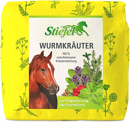 Waldhausen Stiefel Wurmkräuter, 1 kg Tüte, geschnittene Kräuter