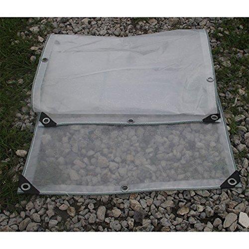 Dekzeil, 0,3 mm dubbellaags, polyethyleen, transparant zeil, outdoor, waterdichte tent, koude isolatie, plastic doek met touw, dekzeil, dekzeil, tuinmeubelen