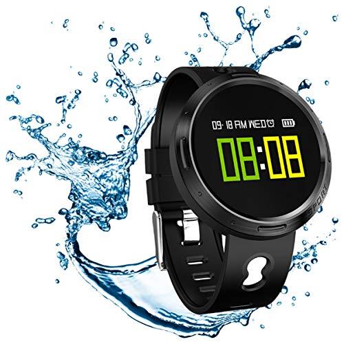 Muvit I/O Health Aqua - Reloj de Actividad y sueño, Color Negro
