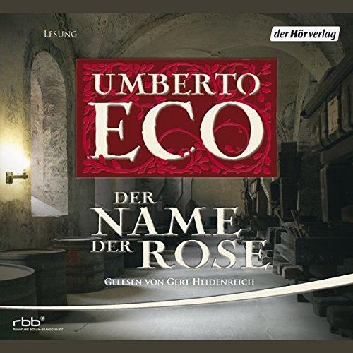 Der Name der Rose audiobook cover art