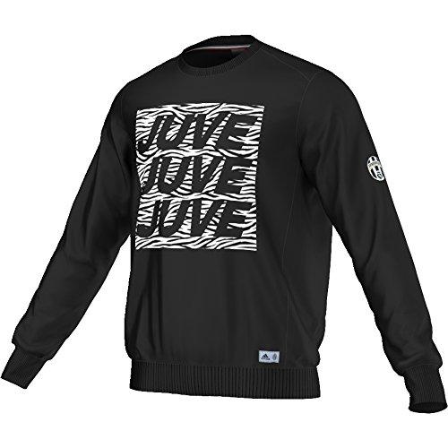 adidas Juve Graphic SW–Sweatshirt Der Line Juventus für Herren, Farbe Schwarz, Größe XS Negro (Negro)