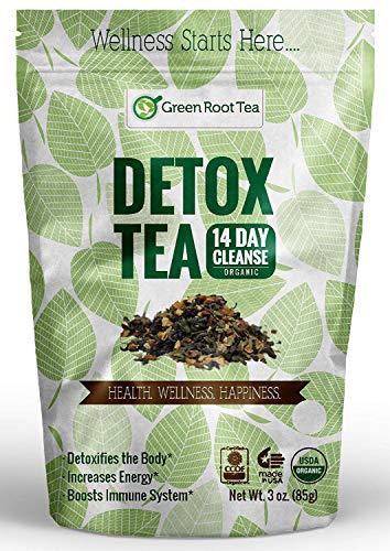 Organic Green Detox Tea - 14 Day Weight Loss Cleanse