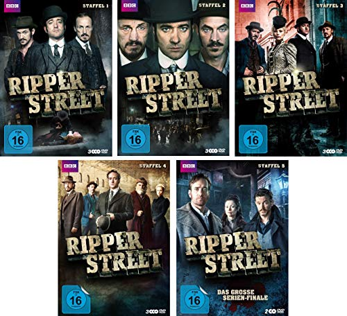 Ripper Street - Staffel 1-5 im Set - Deutsche Originalware [14 DVDs]