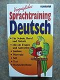 Vergnügliches Sprachtraining Deutsch - Edith Hallwass