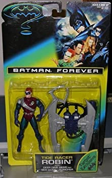 Batman Forever Tide Racer Robin w/ Deep Dive Gear and Sea Claw Launcher Moc