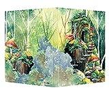 TINERS Cuaderno de Dibujo de la Jungla mágica 8K con cáscara Dura Pintado a Mano