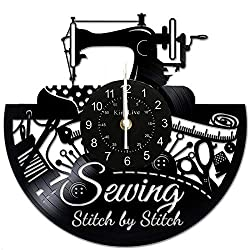 handmade gifts for sewers ~ wall clock