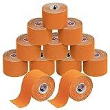 BB Sport 12 Rollos Cinta Kinesiología Tape 5 m x 5 cm Cinta...
