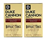 Duke Cannon Bourbon Buffalo Trace Kentucky Straight Bourbon Whiskey Seife Seife Duft von Eiche, 10