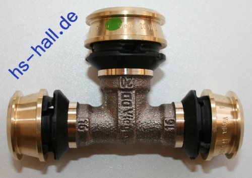 Viega Raxofix T-Stück 16 x 20 x 16 Pressfitting