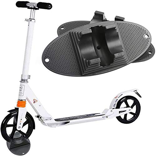 Soporte Individual Scooter Soporte Universal para Scooter - se Adapta a Scooters para Ruedas de Scooter de 95 mm a 120 mm, estacionamiento de Soporte de Scooter