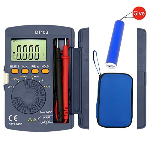 Lowest Price! Digital Multimeter, Auto-Ranging Multimeters AC/DC voltmeter Ammeter with Voltage, AC ...