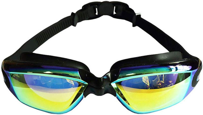 YOJDTD Goggles Glasses Plated Glasses Adult Goggles Waterproof Goggles