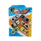 Sipobuy 6 Pezzi Automobili Giocattolo in Metallo pressofuso, macchinine da Corsa Mini Inertia pressofuse, modellini di Automobili F1