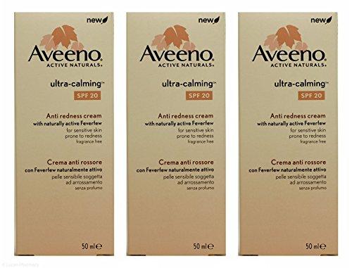 Multibuy 3X Aveeno® Ultra-Calming Anti Redness Cream SPF20-50ml