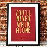 Danjiao Liverpool Fc Motto Vintage Poster Drucke Sie Werden