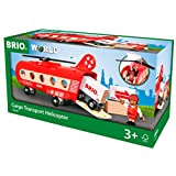 BRIO (ブリオ) WORLD カーゴヘリコプター [ ヘリコプター おもちゃ ] 33886