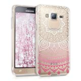 kwmobile Clear Case Compatible with Samsung Galaxy J3