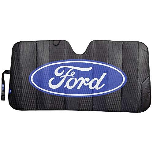 Plasticolor 003858R01 Black Matte Finish Car Truck or SUV Front Ford Logo...