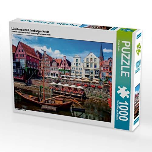 CALVENDO Puzzle Lüneburg und Lüneburger Heide 1000 Teile Lege-Größe 64 x 48 cm Foto-Puzzle Bild von Peter Roder