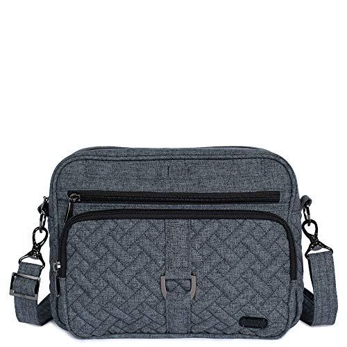Lug Carousel XL Cross Body Bag, Heather Grey