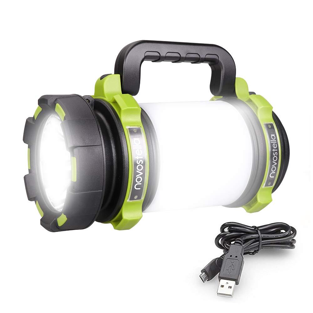 Novostella Rechargeable Flashlight Waterproof Searchlight