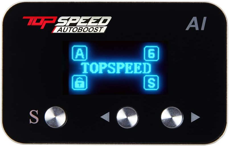 TOPSPEEDautoboost Automatic Houston Mall Cheap mail order shopping Control High Performance Throttle Re