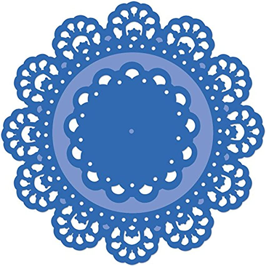 Kaisercraft DD504 Die-Doilies, 4.5 by 4.5-Inch/2.5 by 2.5-Inch